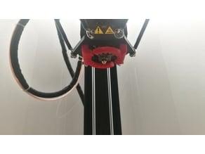Flsun QQ half radial fan duct