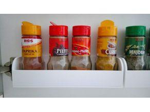 Spice Rack / Gewürzregal - 210x54x55mm