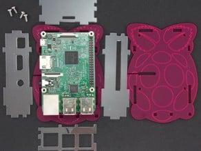 Raspberry B2/3 Acrylic Case Laser cut