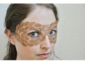 Leaf Masquerade Mask