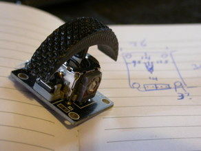 Thumbwheel mod for 'Arduino Joystick'
