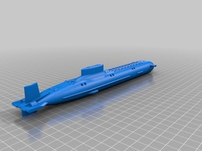 Typhoon Class Submarine (Revised)