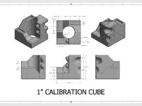 "1"" Calibration Cube"