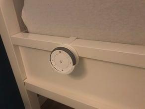 IKEA TRADFRI remote holder for IKEA bed