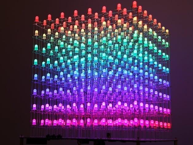 2x2x2 LED Cube EngineersGarage