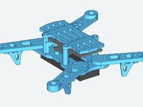Quad Rotor Frame for Blade 200QX vitamins V.1.5