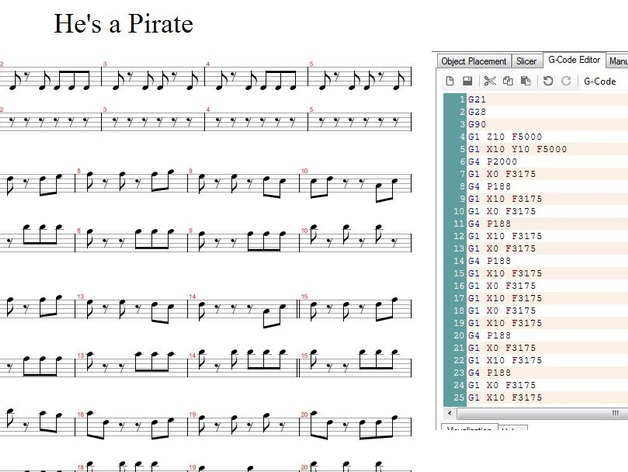 Printers of the Caribbean (Pirates of the Caribbean theme