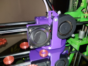 Quick Release E3D Carriage - For 45mm Horizontal X axis