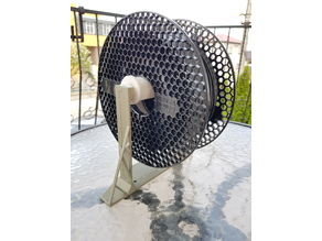 Magnetic ball bearing spool holder - PL Design