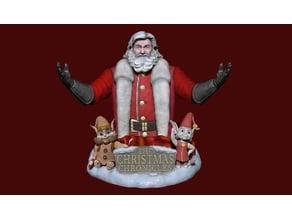 Santa Claus bust (Kurt Russell) V2 9 parts