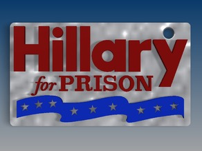 Hillary for Prison Key Chain