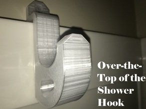 Over-the-Top of the Shower Hook