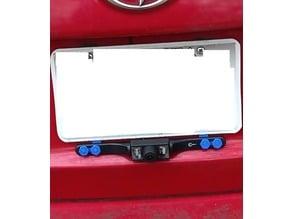 Backup camera mount  for Scion xD (below license plate)