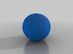5-mm-Pixel Sphere