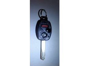 Honda Civic Key Fob Housing Replacement