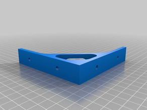 Shelf bracket 100mm x 100mm right angle