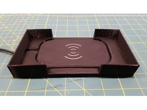 Wireless charging cradle / stand