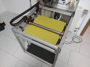 CoreBot - CoreXY 3D printer with linear rails