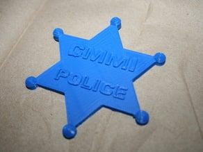 CMMI Police Badge
