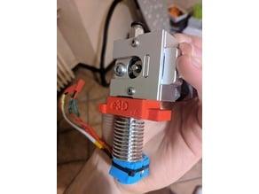 e3d v6 mount for bulldog extruder (only 4max)