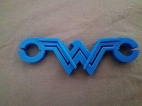 WonderWoman earphone holder