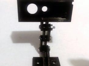 Logitech C270 replacement webcam mount