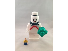 Giant Lego Stay Puft Marshmallow Man