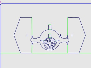 Star Wars TIE Fighter Kirigami