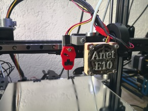 ANET E10 support for hotend AIO EVO + BLtouch or TouchMi