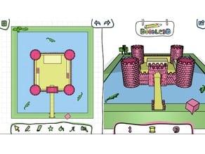 Castle designed by Nico
