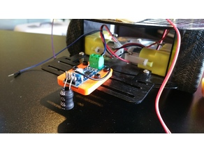 Perimeter sensor holder