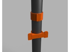 Gardena Wallmount for Rainwater Pipe (D=100mm)