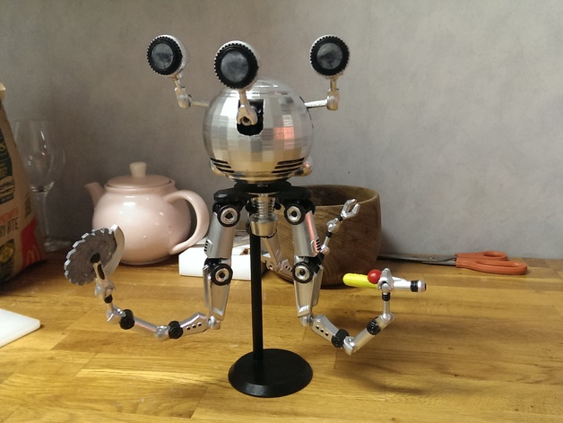 accessories for aaskedalls articulated codsworth from fallout 4 by