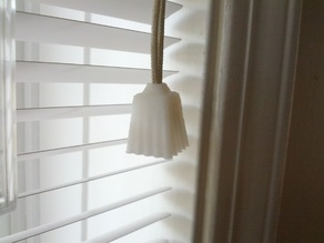 Window blinds pull cone