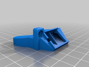 Angled hot2 fan nozzle for Prusa i3