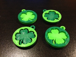 Shamrock Key Tags / Pendants