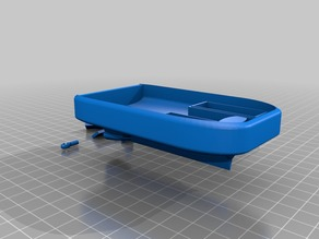 small rubber band boat