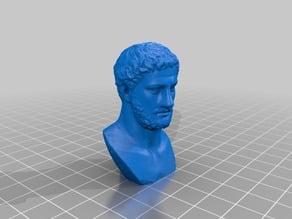 Pythagoras portrait with nose (remix)