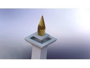 Monas - Miniature Landmark of Jakarta City