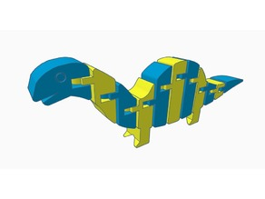 Flexi Brontosaurus Remix