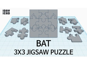 [1DAY_1CAD] 3X3 JIGSAW PUZZLE BAT