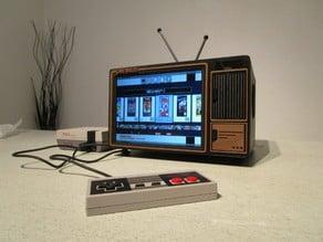 Mini TV rétro