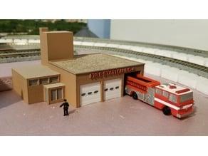 Fire Station No 4 (set)