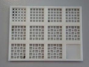 Grid test print object