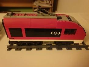 Lego compatible train tracks straight