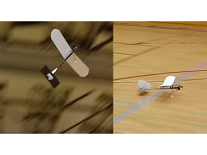 Floo3dPrint rc aircraft for the hall. Extremely light