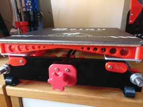 Anet A8 bed insulation holder