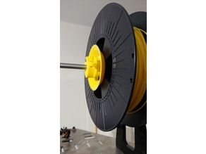 Universal Quick Clamp/Release Filament Spool Holder For 8mm Bar