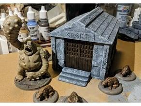 Fantasy Wargame Terrain - Runic Crypt