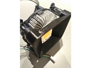 FocoLed_V1 - 50W led + Intel heatsink